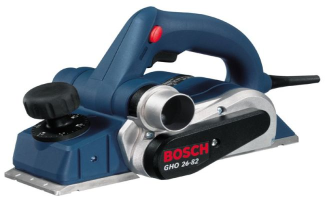 Cepillo eléctrico Bosch GHO 26-82: Un cepillo para uso profesional