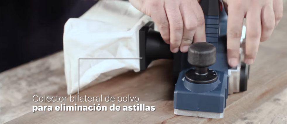 Colector de polvo para el Cepillo eléctrico Bosch GHO 26-82