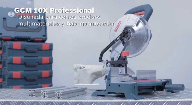 Caracteristicas de la Sierra ingletadora GCM 10X Bosch