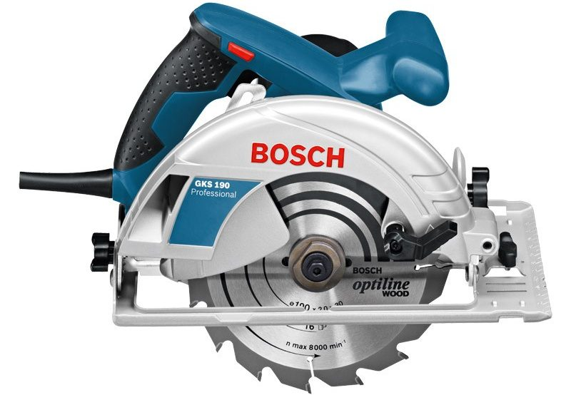 Sierra circular Bosch GKS 190 de 7-1/4″: Reseña