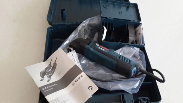 Multicortadora GOP 250CE Bosch: Unboxing