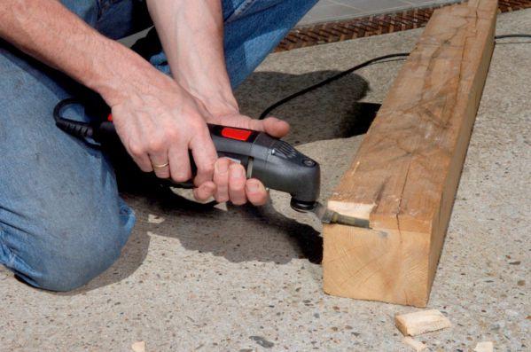 Multicortadora GOP 250CE Bosch: Usos en madera