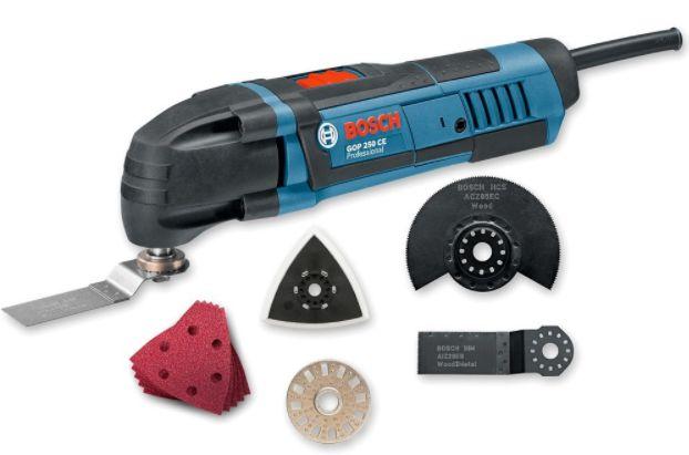 Multicortadora GOP 250CE Bosch: Perfecta para trabajos profesionales