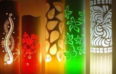 Lámparas de PVC