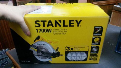 Sierra circular STSC1718 Stanley Precio