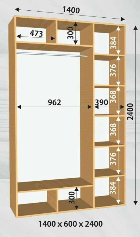 medidas de closets de mdf triplay o madera ForMedidas Para Closets De Madera