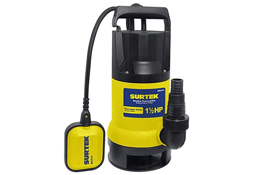 Bomba Surtek Bs515: Bomba de agua sucia de 1-1/2hp (Reseña)
