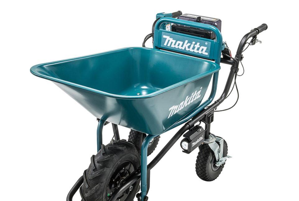 Carretilla Makita DCU180: Motorizada e inalámbrica ¿Vale la pena?