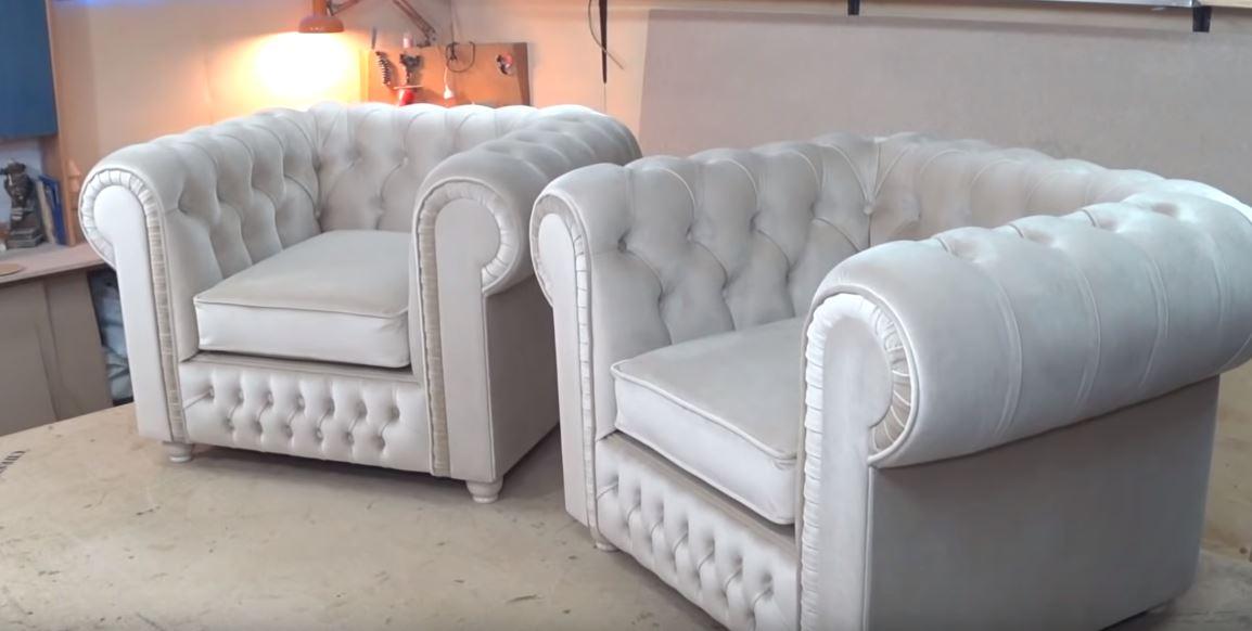 Fabricación de muebles elegantes hechos a mano