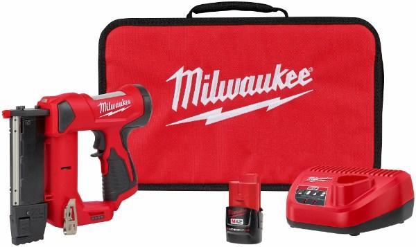 Te presentamos el próximo lanzamiento de Milwaukke la clavadora inalámbrica de 12 volts M12 23 2540